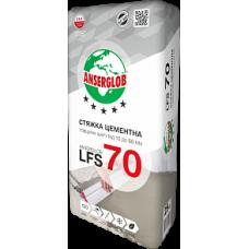 Ансерглоб LFS-70 Стяжка цементная, 25кг