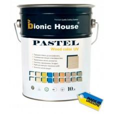 Краска для дерева антисептическая Bionic House Pastel Wood color, 10л