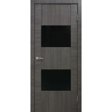 Межкомнатная дверь ОМИС Cortex Deco 03 ЧС ash line